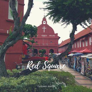 Red Square Atau Bangunan Merah Merupakan Bekas Lokasi Pemerintahan Belanda Di Melaka Sewaktu Jaman Penjajahan