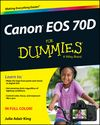 Canon EOS 70D For Dummies Cheat Sheet