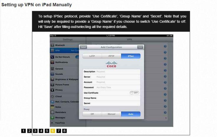 How to Setup VPN on Ipad | James Vang | LinkedIn