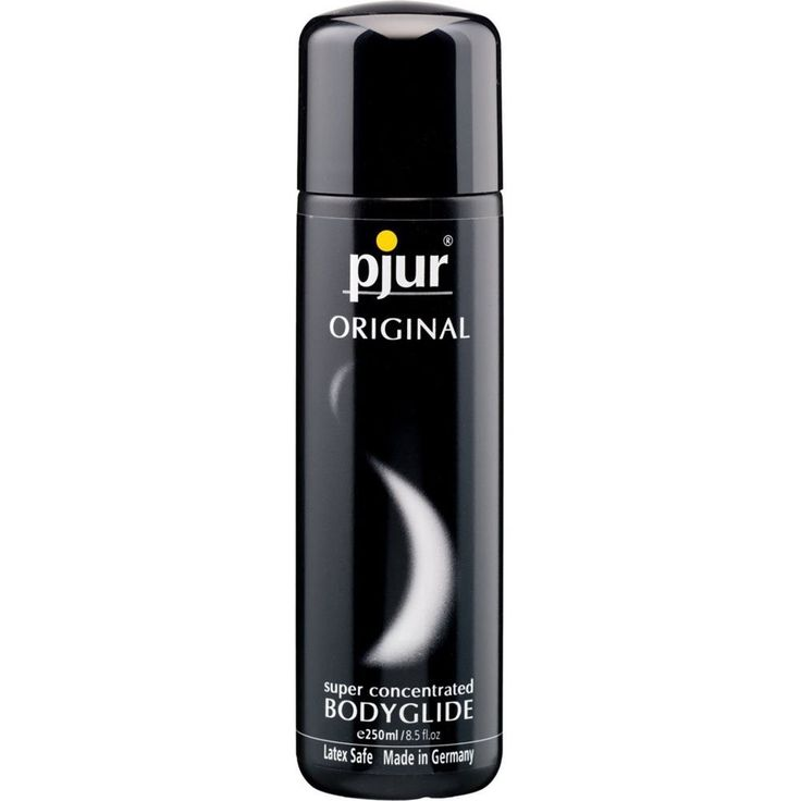 Pjur Original Bodyglide 100ml Lubricant Reference:  300000091303 Condition:  New product  Silicone molecules are not absorbed by the skin but remain on the surface, endowing pjur ORIGINAL with a long-lasting lubricating effect for sexual intercourse as well as a good, long massage. Just a dab will suffice for a pleasant and long-lasting gliding pleasure.