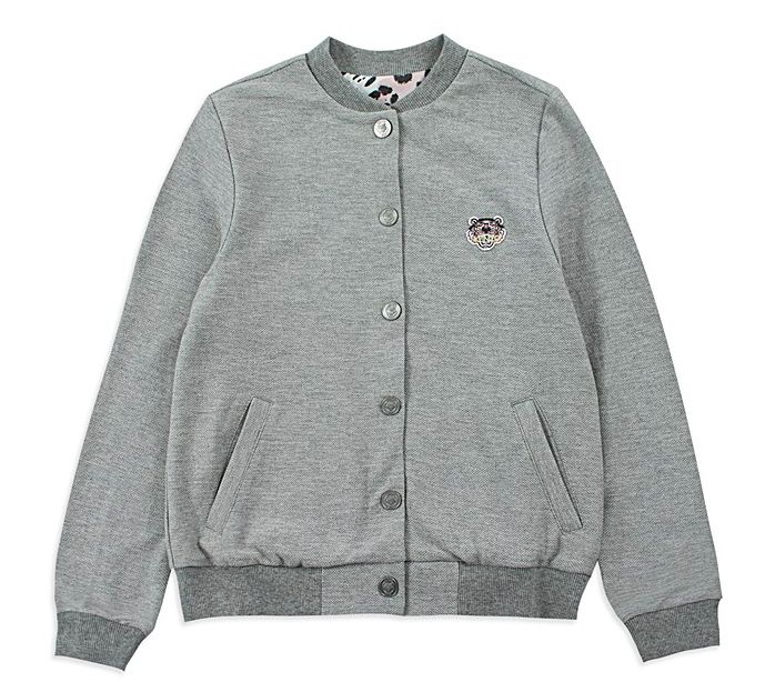 Base Childrenswear Introduces Kenzo for SS17 - Girl Pique Varsity Jacket