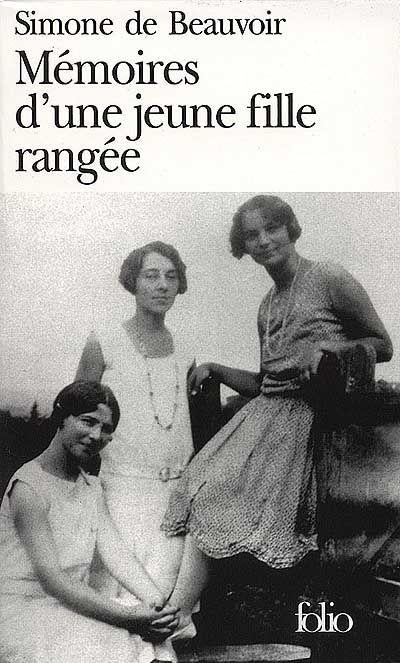 Mémoires d'une jeune fille rangée. Simone de Beauvoir
