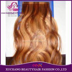 China Extensões de fita de cabelo invisível de venda quente e barato http://www.beautyhairextension.pt/product/show-2-tape-hair.html