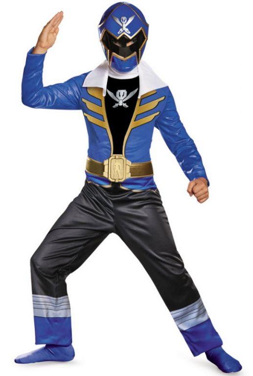 Blue Power Ranger Costume - Boys Costumes
