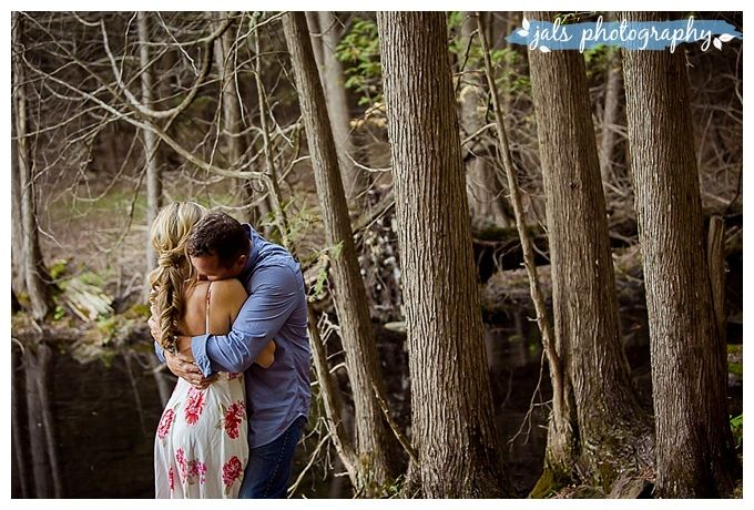 Romantic forest, O'Hara Mill, Madoc by jals photography