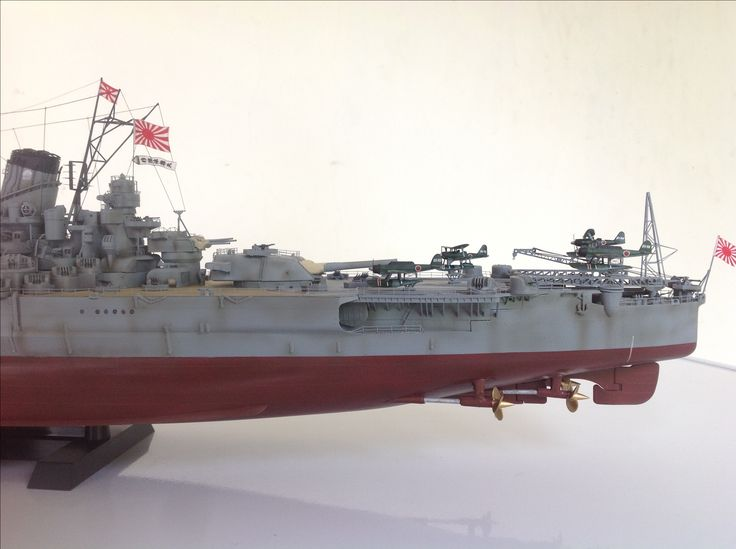 1/350 scale IJN Yamato | ademodelart ( 11th build )