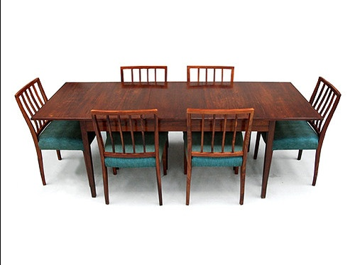 Vintage 1970s Heritage Rosewood Dining Set Archie Shine Chairs Table Heals