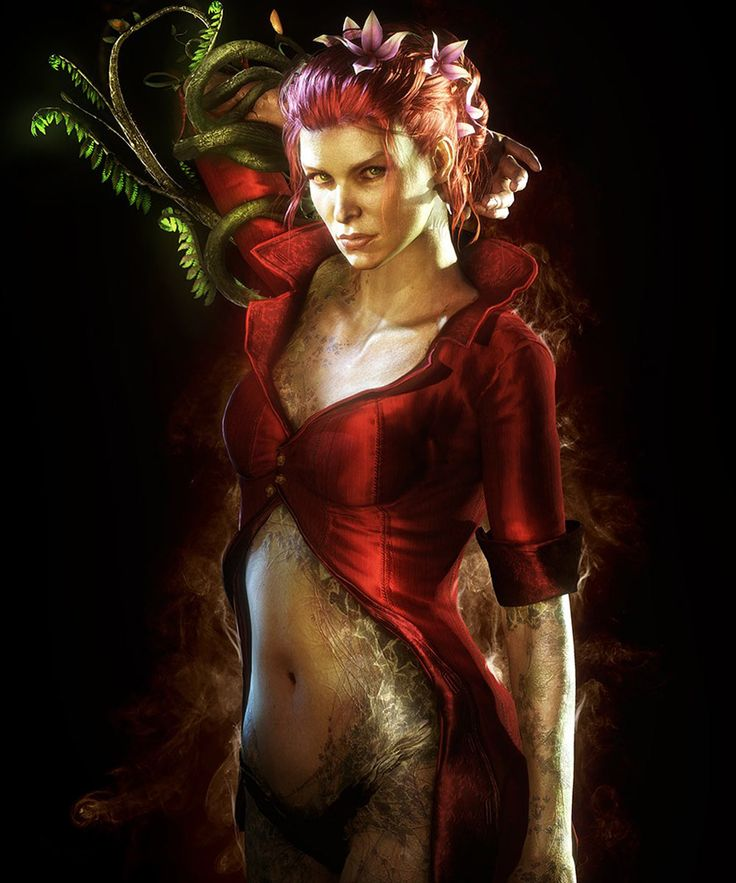 Poison Ivy for Batman Arkham Knight Game