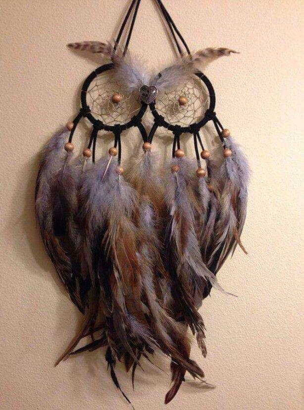 Owl dreamcatcher