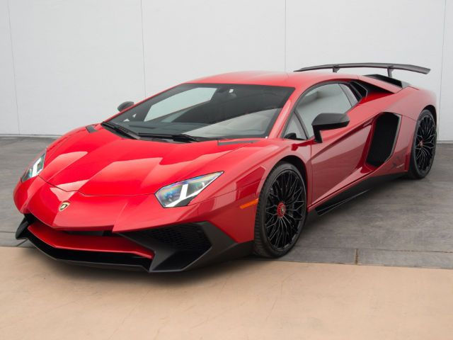 Awesome Amazing 2016 Lamborghini Aventador LP750-4 Superveloce 2016 Lamborghini Aventador LP750-4 Superveloce 3,940 Miles Rosso Mars Coupe 6.5L 2018