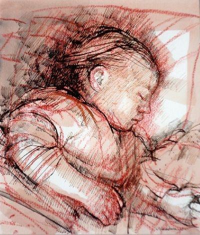 Infant by Margaret Woodward