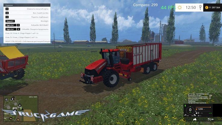 Подборщик Case IH Jumbo для Farming Simulator 15 - http://truckgame.ru/farmingsimulator2015/podborshhik-case-ih-jumbo-dlya-farming-simulator-15/
