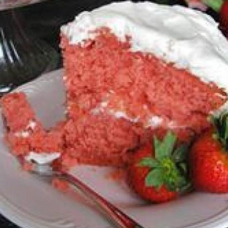 Strawberry Cake From Scratch With Frozen Strawberries