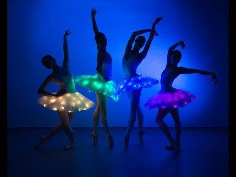 LED Light Ballerinas - YouTube