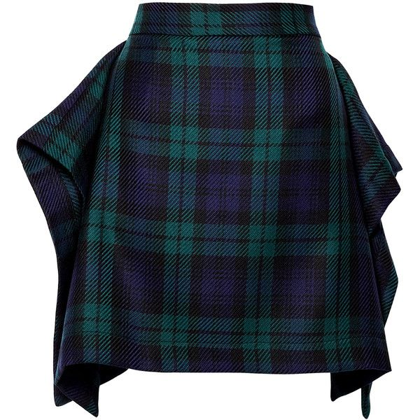 Vivienne Westwood Anglomania Consort Tartan Skirt found on Polyvore