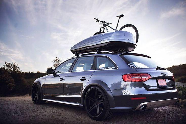Audi Allroad with TSW Mirabeau