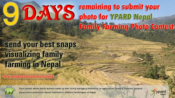 YPARD Nepal Family Farming Photo Contest