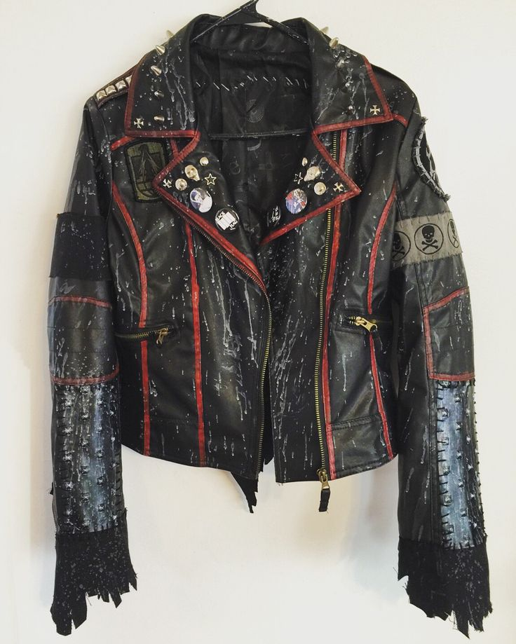Rocker jackets from Chad Cherry Clothing Vegan leather