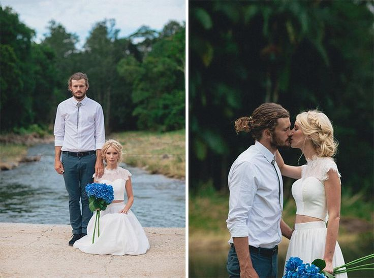 A wedding photo shoot by Bella Pelle