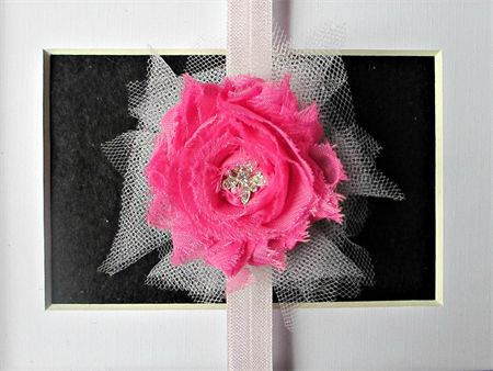 Pretty in Pink - Toddler/Girl Stretch headband madeit.com.au/moobearcreations