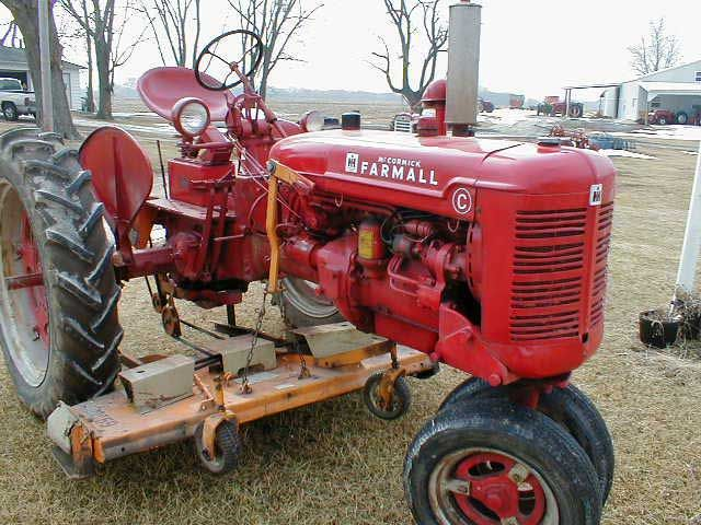 Farmall c farm tractors pictures and information - Farmall tractor wallpaper border ...