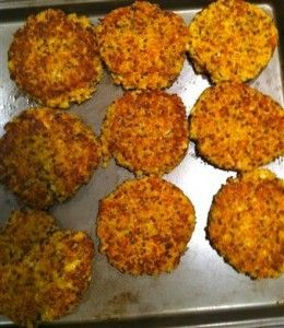 Meatless Monday Quinoa Cakes Weight Loss Recipes for Women