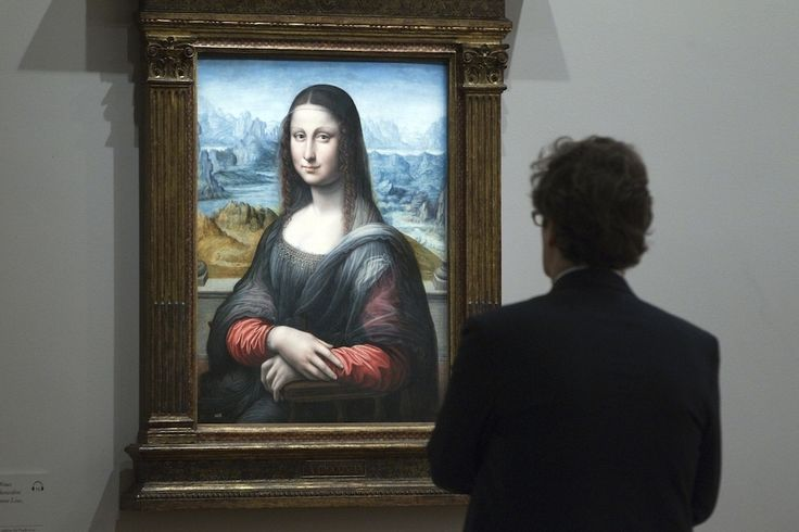 Gorgeous Images Of DaVinci's Last Masterpiece And Mona Lisa's Sister Hmm, hmm, hmm I like this better than  DaVinci's...