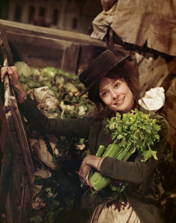 Audrey Hepburn in My Fair Lady (1964) as Eliza Doolittle