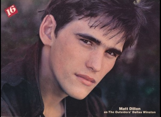 995 best images about Matt Dillon . . . The Outsiders on ...