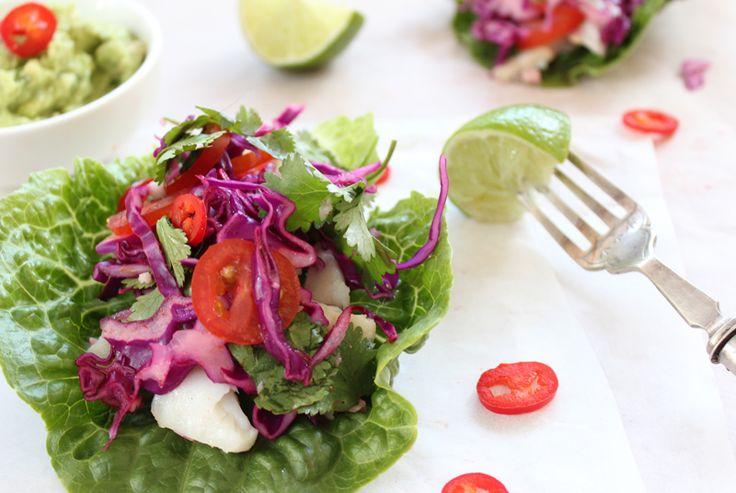 Crunchy and Crisp Mexican Fish Salad