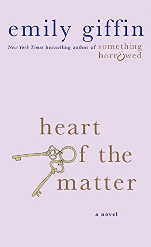 Heart of the Matter by Emily Giffin >> books, novels, contemporary fiction, women's fiction, contemporary romance, beach reads, summer books #affiliate