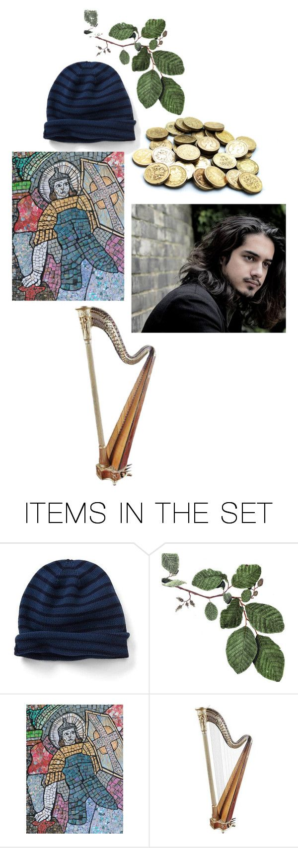 """""""Modern Fairy Tales: Jack and the Beanstalk"""" by dorothygale-z ❤ liked on Polyvore featuring art, modern and vintage"""