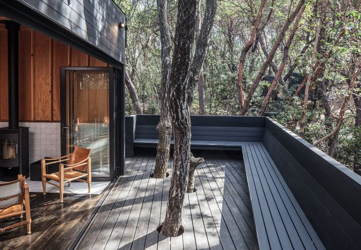 Location: California - Forest House, a project of much acclaim, recently won a 2017 design award from the San Francisco chapter of the American Institute of Architects.