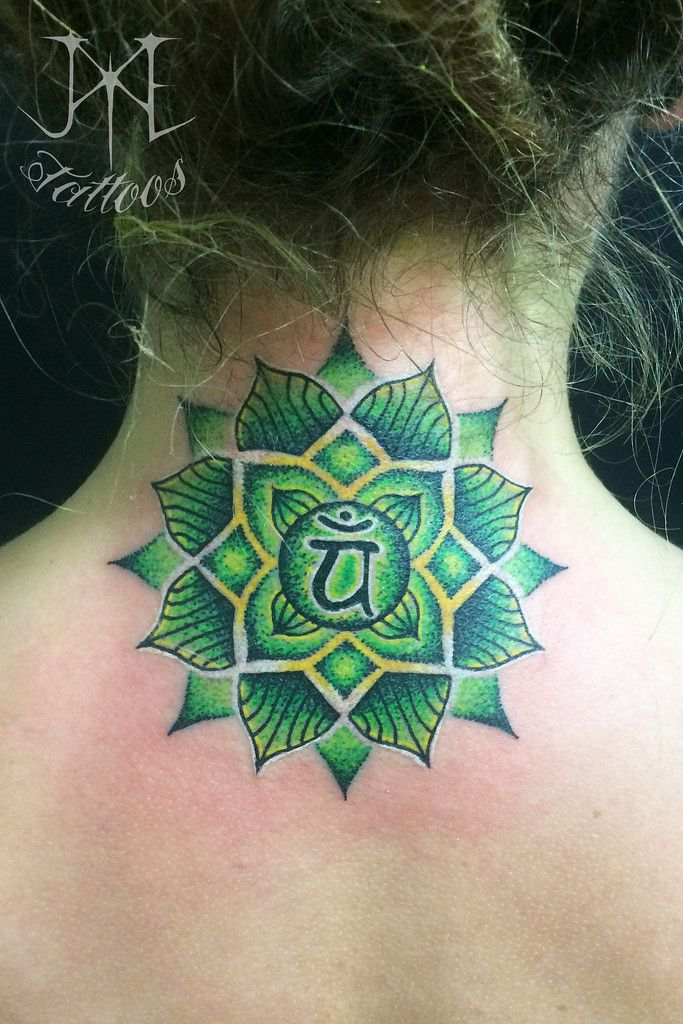 Heart Chakra Mandala Tattoo | Flickr - Photo Sharing!