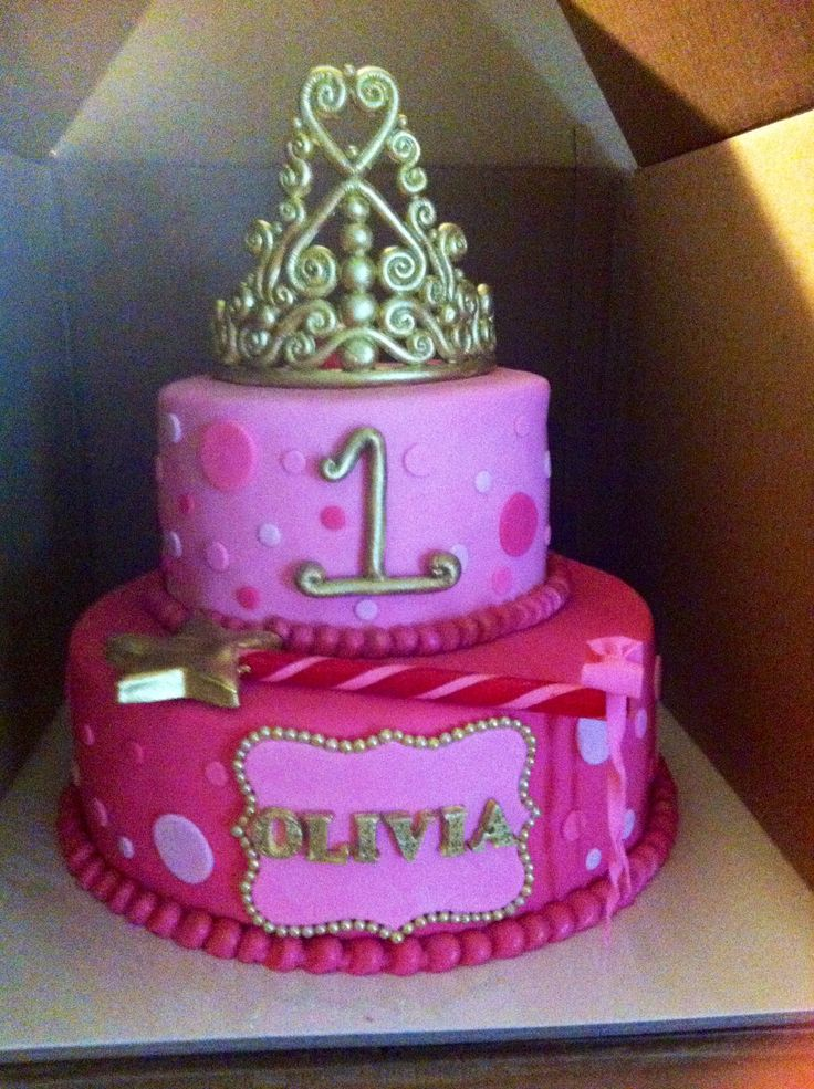 My baby girl s first birthday cake Birthday ideas for ...
