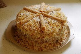 Vegetariancook: Веганский гавайский торт