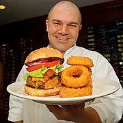Joe Raiola of Morton's Steakhouse burger recipe