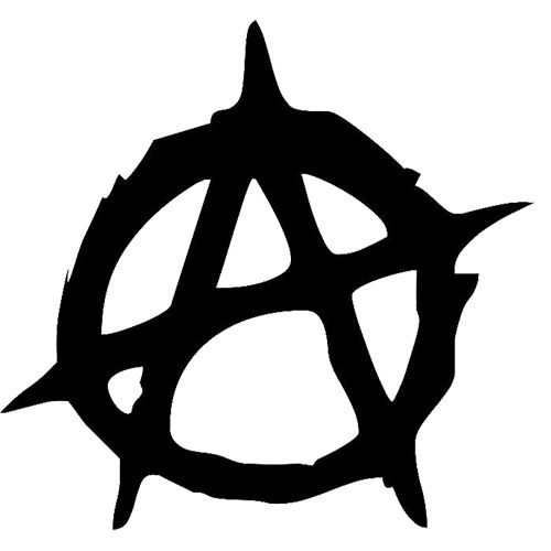 Anarchy Laptop Car Truck Vinyl Decal Window Sticker Pv834
