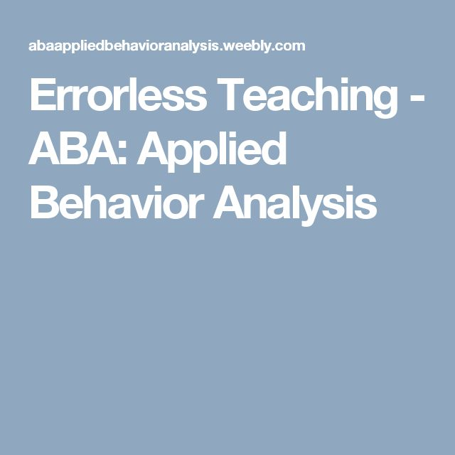 271 best Applied Behavior Analysis images on Pinterest Applied - behavior analysis samples