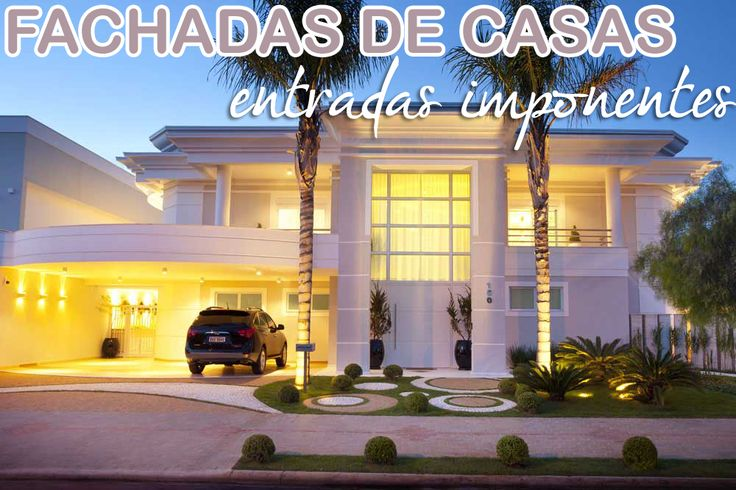 38 best images about fachada casa on pinterest madeira for Fachadas de entradas de casas