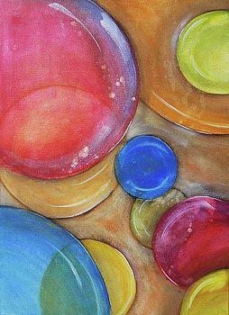Colorful Bubbles by Vilem Buchmann