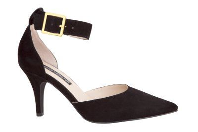 Jane Debster Tower Black Suede