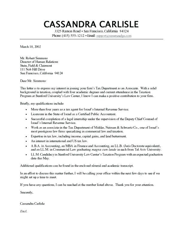Cover Letter Template My Perfect Resume | Sample resume ...