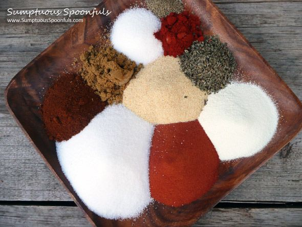 Red Robin Seasoning {Copycat Recipe #2}--DIY Homemade seasoning mix (you can order the tomato powder on amazon or check bulk dept)--this seasoning can be used in place of salt in just about every savory dish (eggs, potatoes, vegetables, meats, fish, chicken, seafood)>recipe from Sumptuous spoonfuls