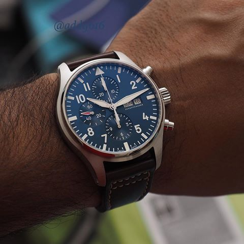 IWC [NEW] Pilot's Chronograph IW377714 Le Petit Prince (Retail:US$4,950) ~ OUR PRICE: HK$29,900.    #IWC #IWCPILOT #IWC_PILOT #IWCPILOTCHRONOGRAPH #LEPETITPRINCE #IWCLEPETITPRINCE #IWC_LE_PETIT_PRINCE #LE_PETIT_PRINCE #IWC377714 #IW377714