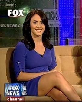 Andrea Tantaros- not her best pic. She's gorgeous though!