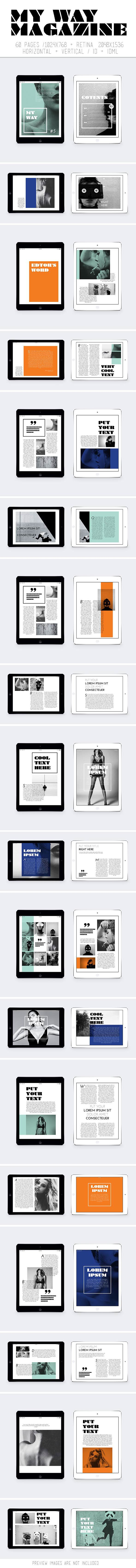 Tablet My Way Magazine on Behance