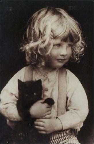 Emma Barton - Photograph by Cecil Barton (undated)