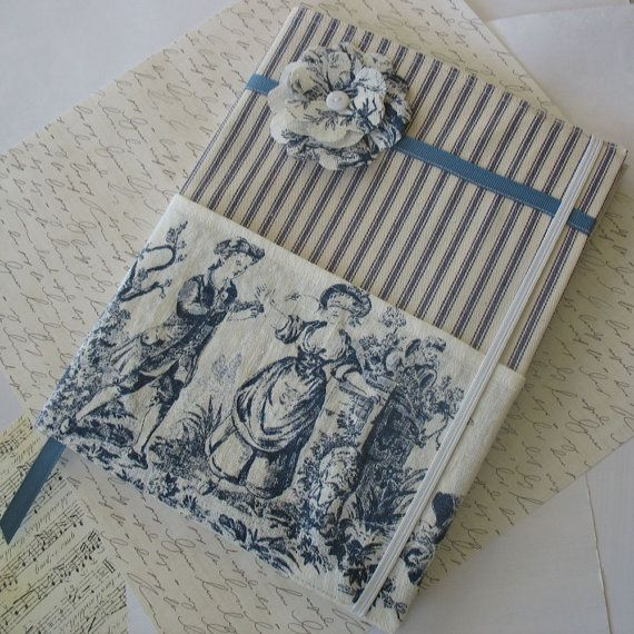 Toile Composition Notebook Cover