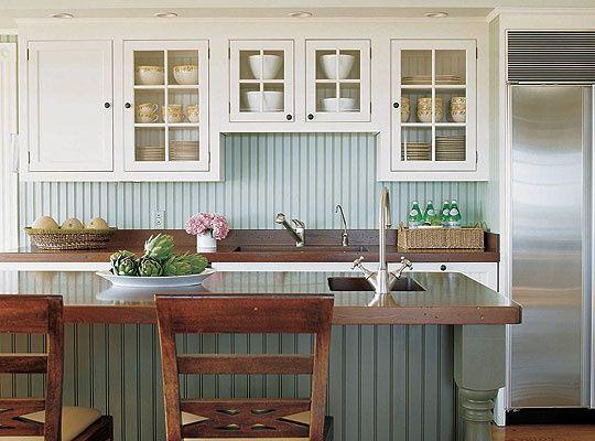 Kitchens With Beadboard Backsplash